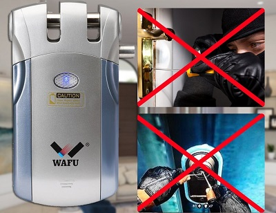cerradura inalambrica invisible Wafu WF-018U